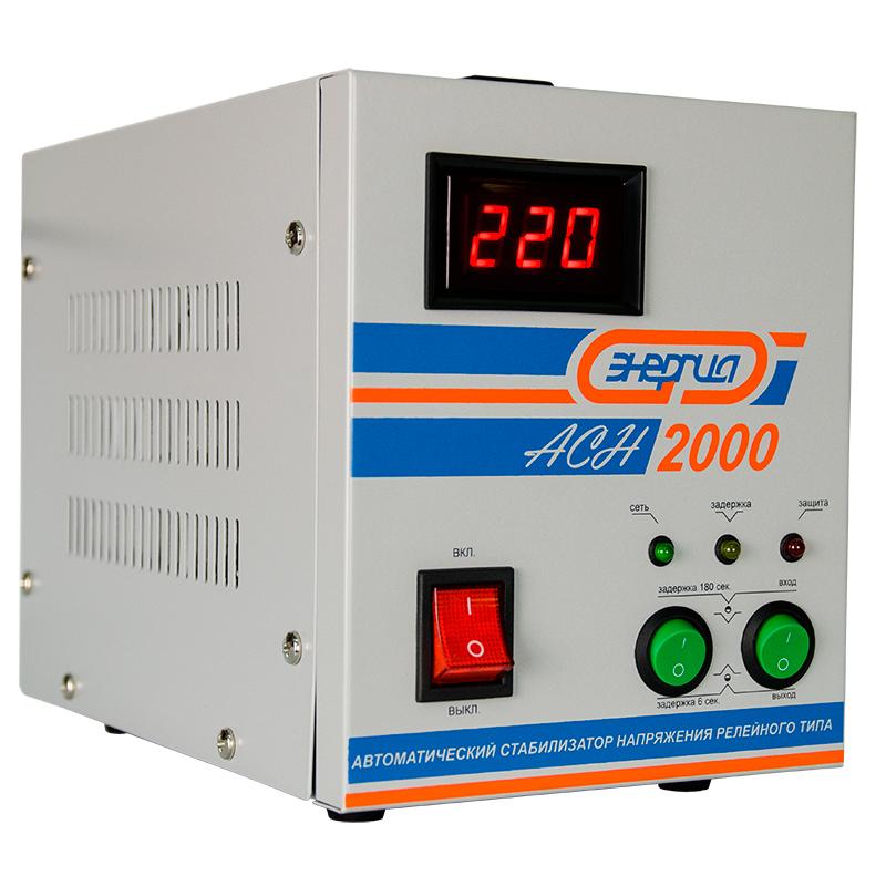 Cтабилизатор АСН- 1500 с цифр. дисплеем