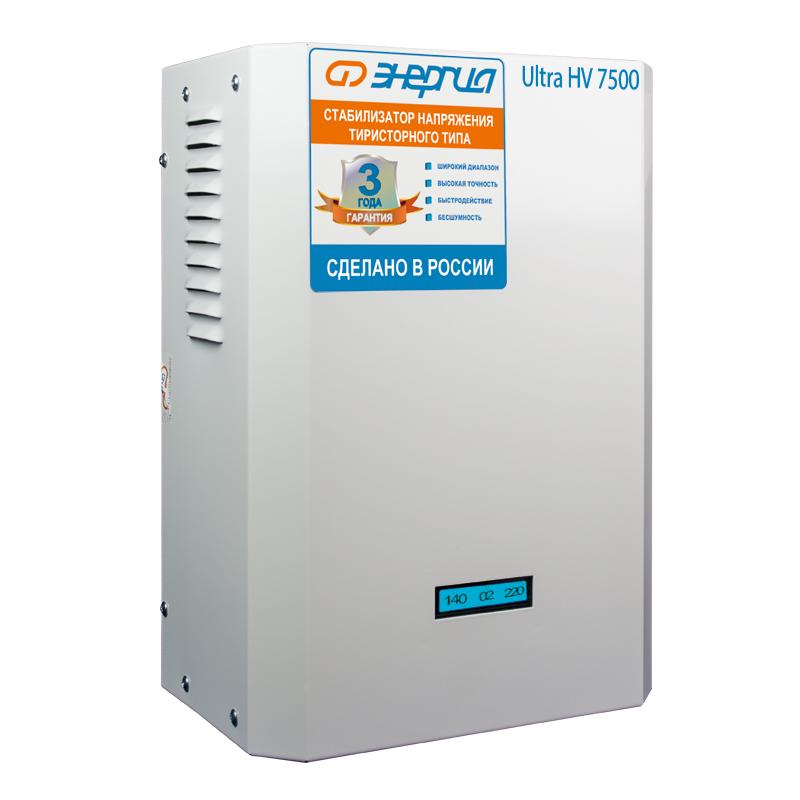 Cтабилизатор 7 500 ВА серии Ultra (HV)