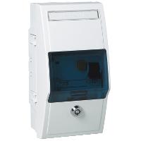CYB-PN-коробка 4 DIN модуля цвет R9010
