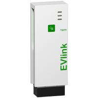 Напольная зарядная станция типа Parking мощностью до 22 kW,с 1 разъемом T2,RFID