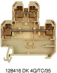 DK 4Q/35/TC TYP K - Соединитель электрический, Винт