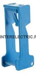 095.01 | Пластиковый фиксатор реле 40, 44 для розеток 95.03, 95.05; синий