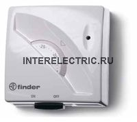 1T.01.1 | Термостат для внешнего монтажа  с переключением вкл.\выкл. (бежевый); 1 перекидной контакт 10А
