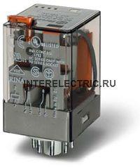 60.12.4.011.0040   Универсальное реле тока; 2 перекидных контакта 10А (~ 0,085-0,15А AC) 8 штырьковый разъем
