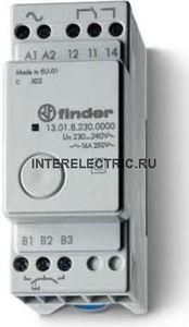 13.01.0.012.0000 | Модульное электронное импульсное реле; 1 перекидной контакт 16А (~/= 12В AC/DC)