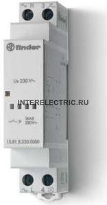 13.81.8.230.0000 | Модульное электронное импульсное реле; 1НО контакт 16А (~ 230В AC)