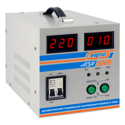 Cтабилизатор АСН- 5000 с цифр. дисплеем