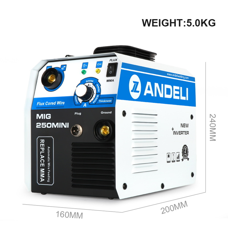 Сварочный аппарат ANDELI MIG-250mini