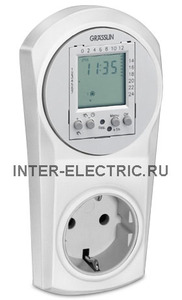 161500011 | TOPICA600 Розеточный таймер цифровой, недельный, 230В AC