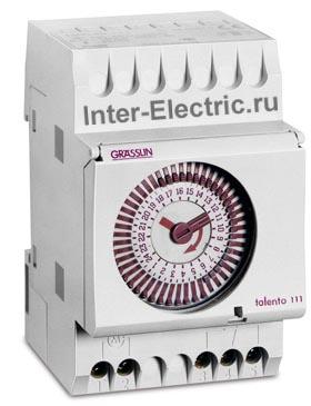 022800151 | TALENTO 261 Таймер дневной с шагом 15мин.; 1 перекидной контакт 16А, 230В AC