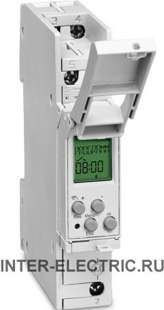 037200011 | TALENTO 371 mini plus Программируемый цифровой недельный таймер, 1 канал 16А, 230В AC, узкий