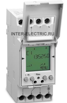 037500041 | TALENTO 671 plus Программируемый цифровой недельный таймер, многофункциональный, c GPS входом, 1 канал 16А, 120В AC