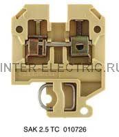 SAK 2.5/TC CH - Соединитель электрический, винт