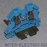 WDU 6 BL - Соединитель электрический, Винт